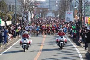 29回三田マラソンスタート1